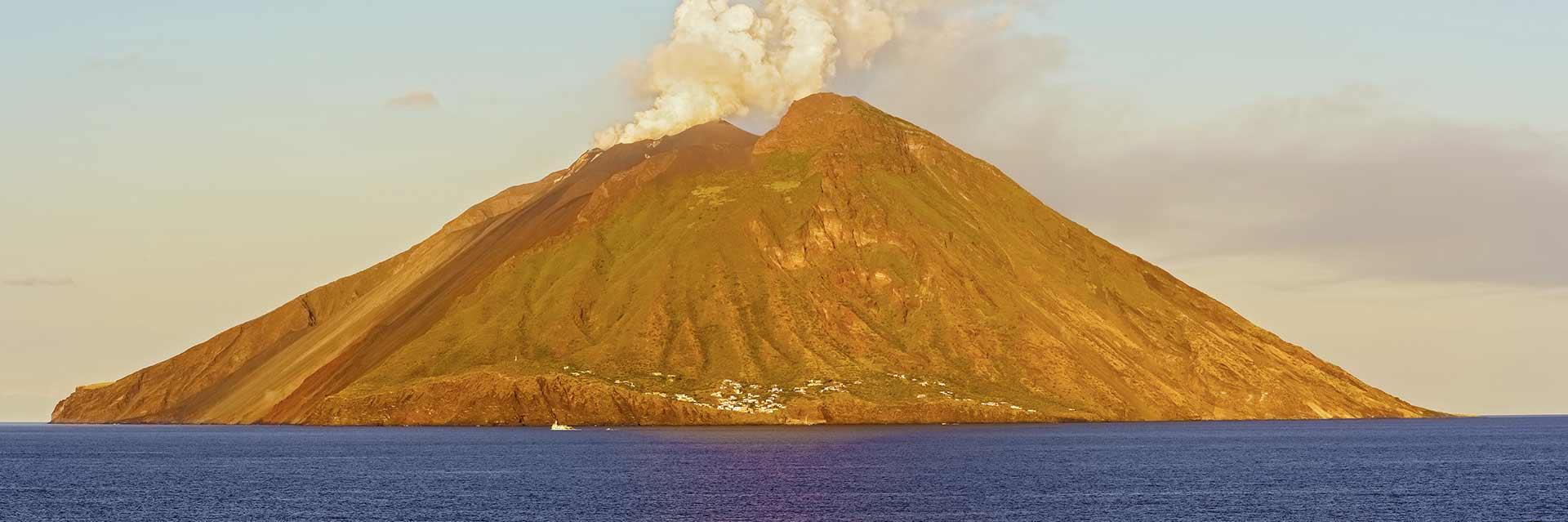 volcans actifs en italie