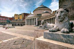 Plazza Plebiscito, Naples, Campanie, Italie