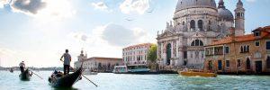Venise, Italie, amoureux, weekend