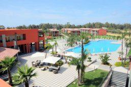 Vue aérienne, piscine, VOI Hotels Baia di Tindari, Sicile