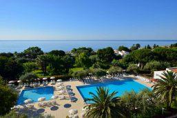 Piscine, Vue aérienne, Unahotels Naxos Beach Sicilia, Sicile