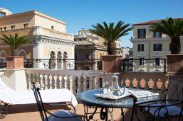 Terrasse, Suite Dama, Palazzo Dama, Rome, Italie