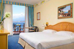 Chambre supérieur, Unahotels Capotaormina, Sicile