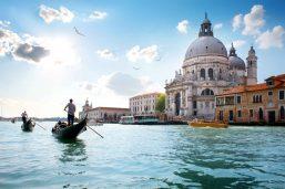 Santa Maria della Salute, Venise, Italie