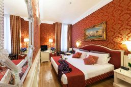 Chambre classique, Duodo Palace, Venise, Italie