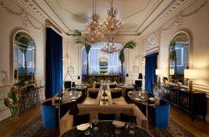 Restaurant, Palazzo Dama, Rome, Italie