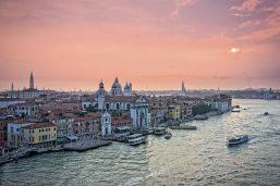 Lagune de Venise, Italie, vaporetto