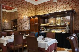Restaurant,Duodo Palace, Venise, Italie