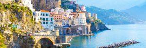 Amalfi, Italie, plage, soleil, vacances, voyage, séjour, italie du sud