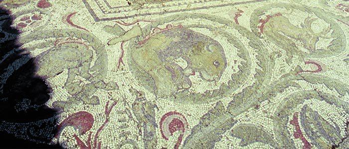 Mosaïque de la villa romaine di Casale de Piazza Armerina à découvrir lors d'un voyage en Sicile