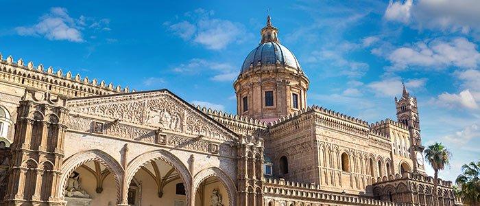 La cathédrale de Palerme à visiter durant un sejour en Sicile