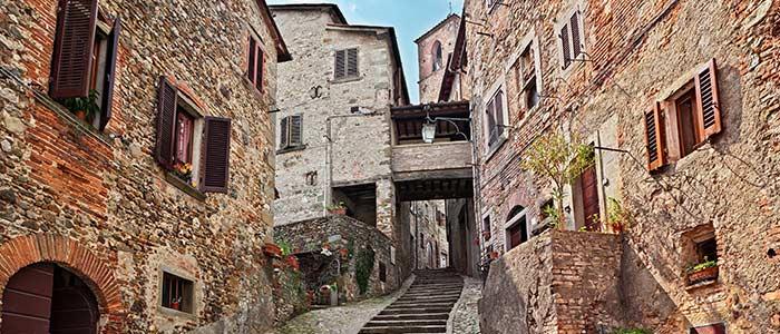 circuit en Toscane