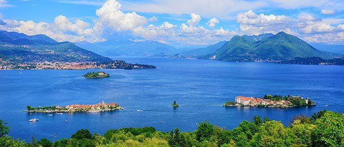 les lacs italiens en voiture