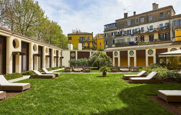 Jardin, Hotel Indigo Venice - Sant'Elena, Venise, Italie
