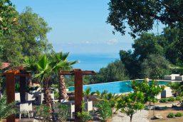 Piscine et vue sur la mer, Vallegrande Nature Resort, Cefalu, Sicile
