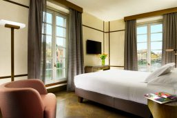 Chambre deluxe, Hotel Balestri, Florence, Italie