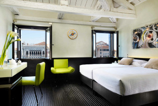Chambre deluxe vue Grand Canal, Hotel L