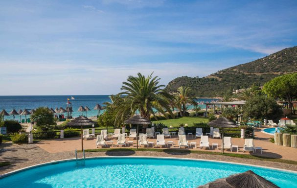 Piscine, Hotel & Résidence Cormoran, Sardaigne, Italie