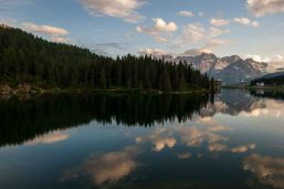 Lac Misurina, Dolomites, Italie