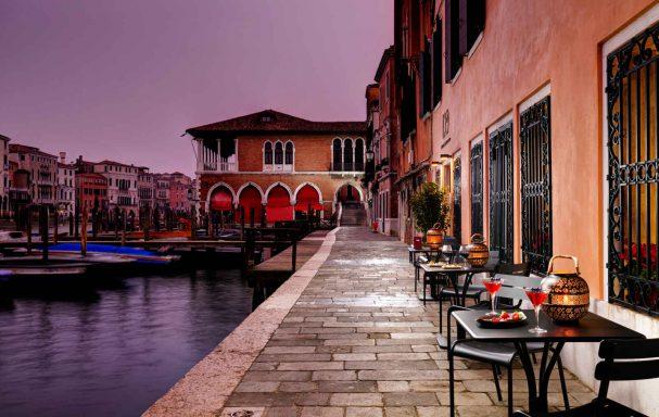 Entrée, Hotel L'Orologio Venezia, Venise, Italie