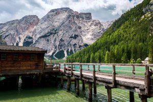 Lac de Braies, Dolomites, Italie