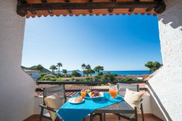 Terrasse, Hotel & Résidence Cormoran, Sardaigne, Italie
