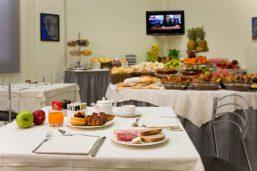 Petit déjeuner, CDH Hotel La Spieza, La Spezia, Italie