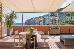 Suite del Castello, Grand Hotel Portovenere, Parc national des Cinque Terre (Cinq Terres), Ligurie, Italie
