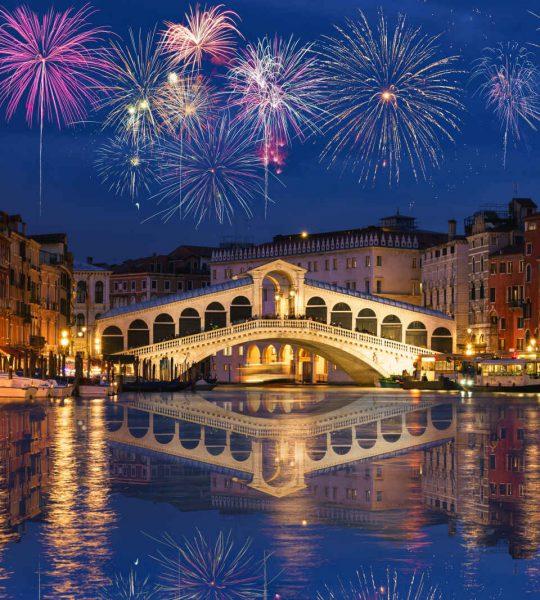 Venise au Nouvel An, Vénitie, Italie