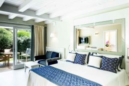 Bungalow deluxe, partie hôtel Bouganville, Forte Village Resort, Sardaigne, Italie