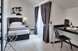 Chambre simple supérieure, Hotel Napoleon, Milan