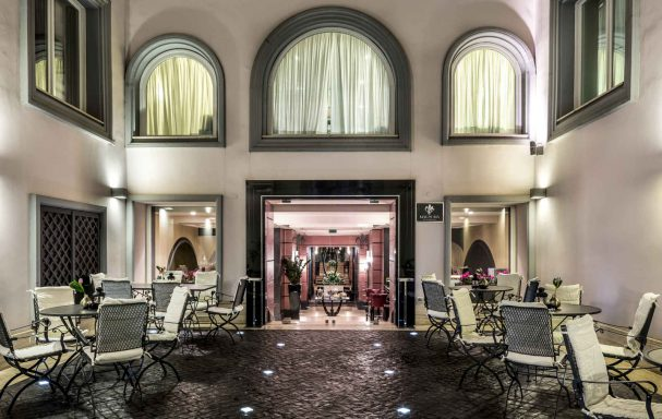 Restaurant Magnolia, Grand Hotel Via Veneto, Rome