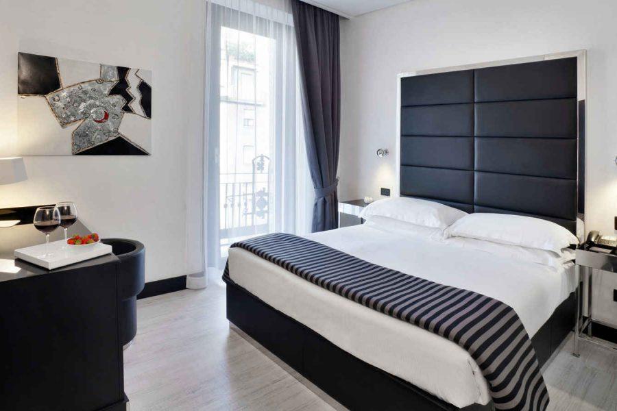 Chambre double supérieure, Hotel Napoleon, Milan