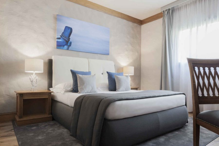 Chambre double, hôtel Grand Hotel Mazzarò Sea Palace, Taormine, Sicile, Italie