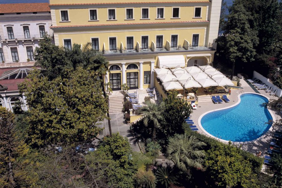Vue d'ensemble, Imperial Hotel Tramontano, Sorrente, Italie