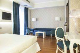 Suite junior contemporaine, Hotel De La Ville, Milan, Italie