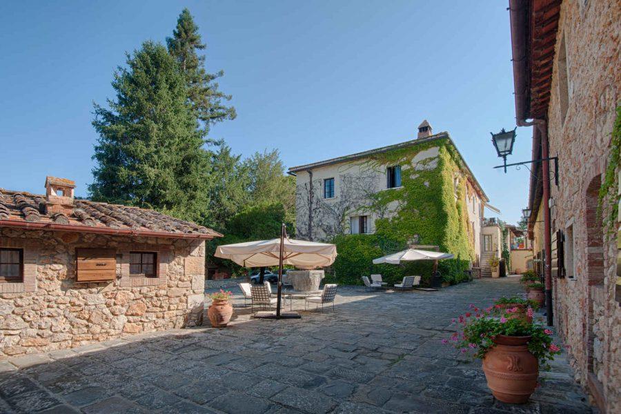 Extérieur, Borgo San Luigi, Toscane