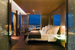 Chambre, hôtel Romeo Napoli, Naples, Italie