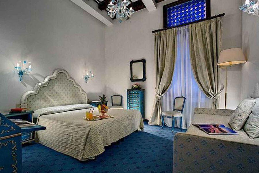 Chambre, Hotel Giorgione, Venise, Italie