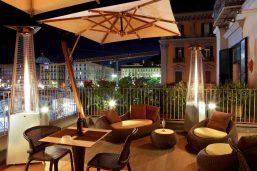 Bar, Hôtel Mercure Angioino, Naples, Italie