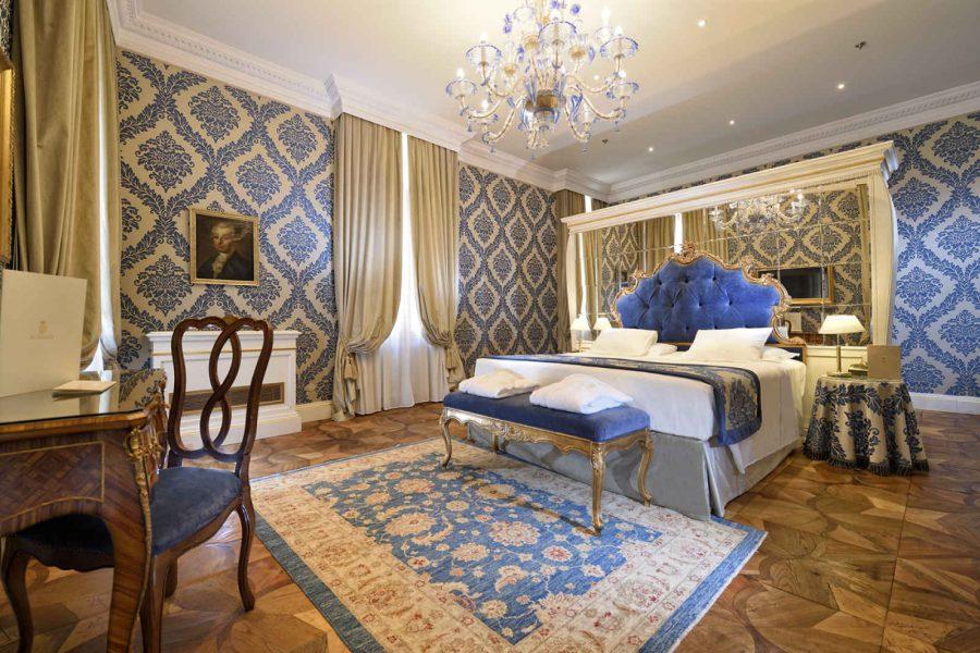 Suite junior, Hôtel Ai Reali, Venise, Italie.
