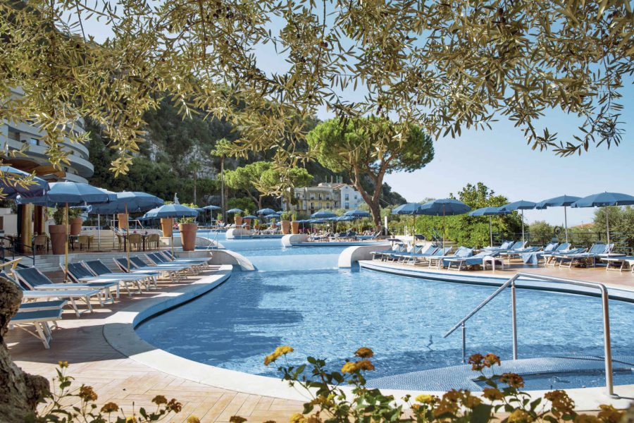 Piscine, Hilton Sorrento Palace, Sorrente