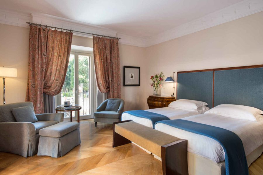 Chambre deluxe, hôtel Rose Garden Palace, Rome