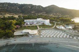 Vue extérieure, hôtel Falkensteiner Resort Capo Boi, Villasimius, Sardaigne, Italie