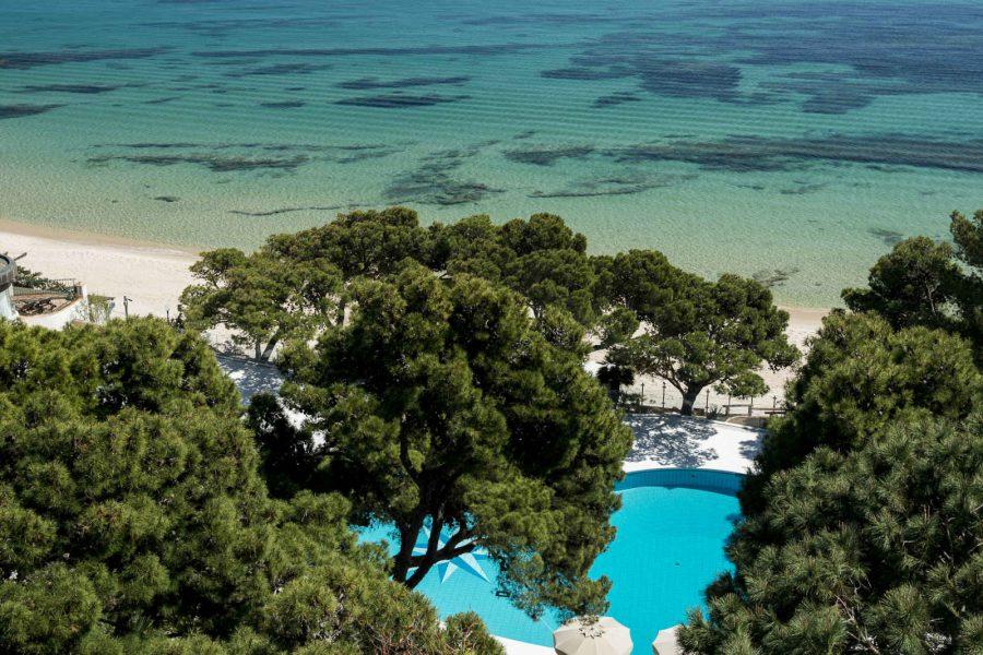 Piscine, Il Castello, Forte Village Resort, Sardaigne