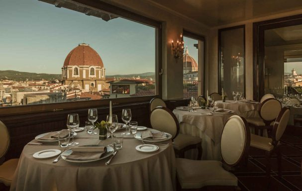 Restaurant Terrasse Brunelleschi, Grand Hotel Baglioni, Florence
