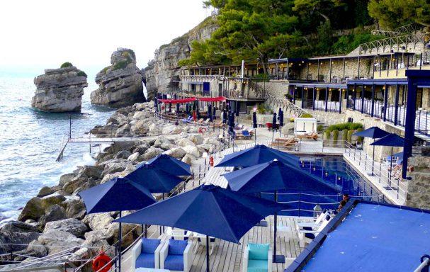 Terrasse et restaurant, hôtel Capo La Gala Hotel & Spa, Vico Equense, Campanie, Italie