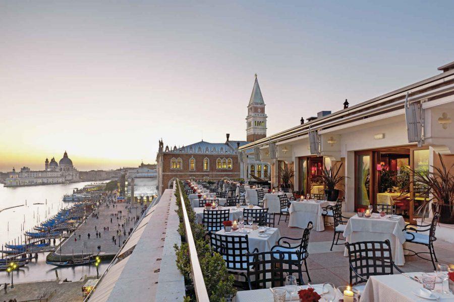 Restaurant Terrazza Danieli, Hotel Danieli, Venise
