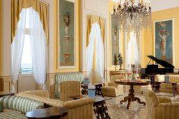 Salon, Imperial Hotel Tramontano, Sorrente, Italie