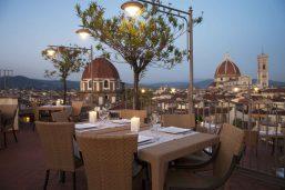 Terrasse, Grand Hotel Baglioni, Florence